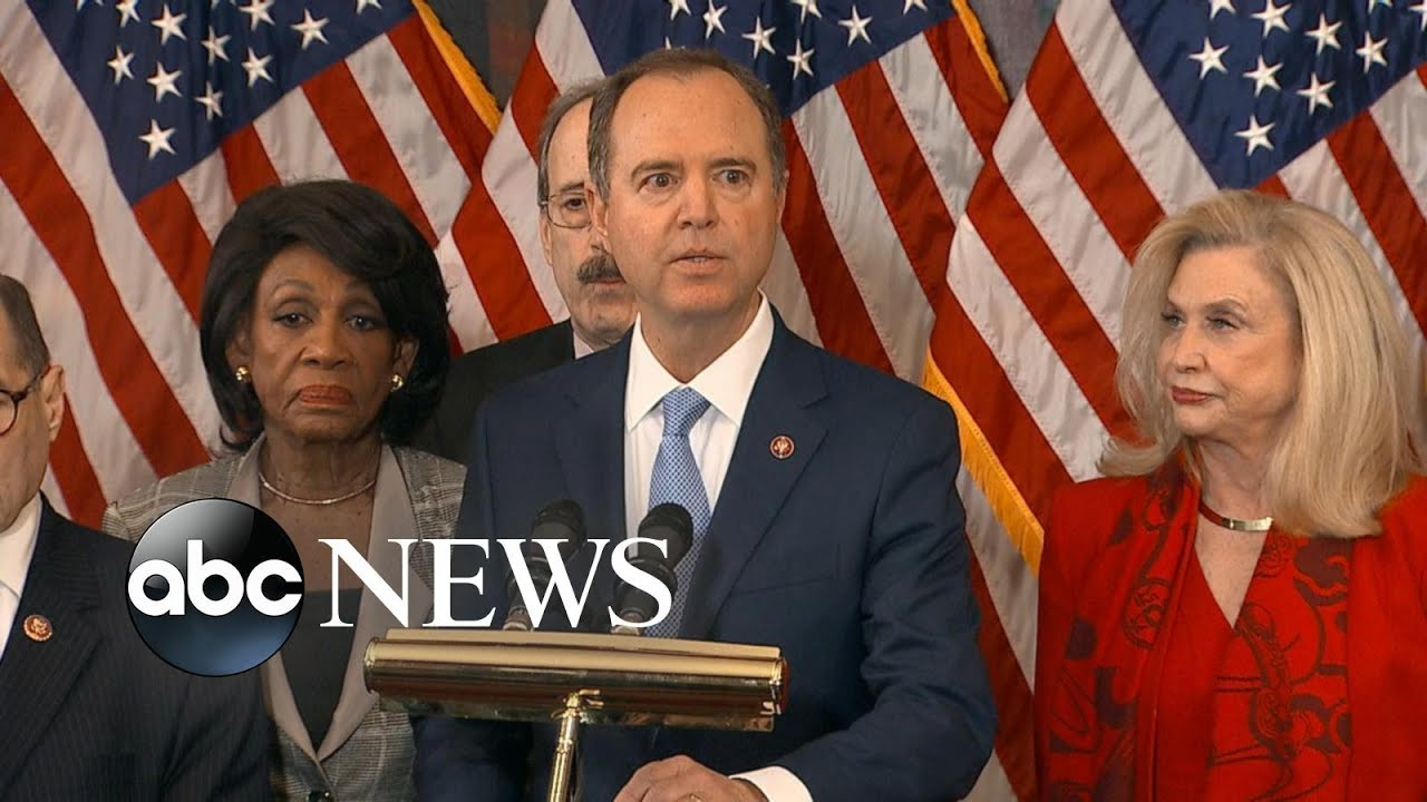 House Democrats Unveil Articles of Impeachment Against ...