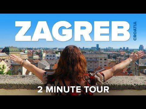 ZAGREB, Croatia - a 2 Minute Tour