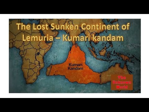 The Lost Continent of Lemuria or Kumari Kandam- a myth or a mystery ?