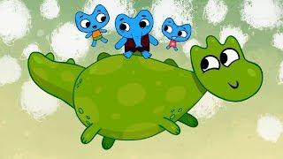 Детские песенки: Котики вперед! Слонокот - Теремок ТВ мультики для детей
