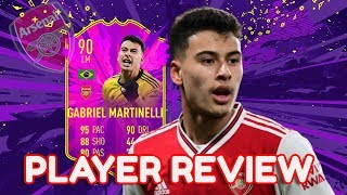 90 Future Star Martinelli Player Review | Fifa 20 | Is He Worth It?