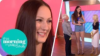 Holly and Phillip Meet the Woman With the World's Longest Legs | This Morning