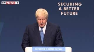 The Boris Johnson Mashup: Conference Speech Best Bits