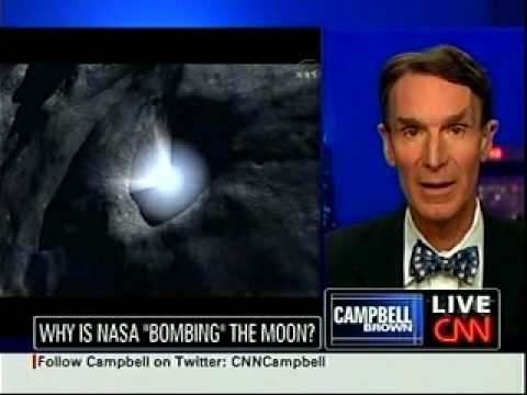 CNN REPTILIAN NEWS with MR SPOCK! LOL !!-BOMBING OF THE MOON