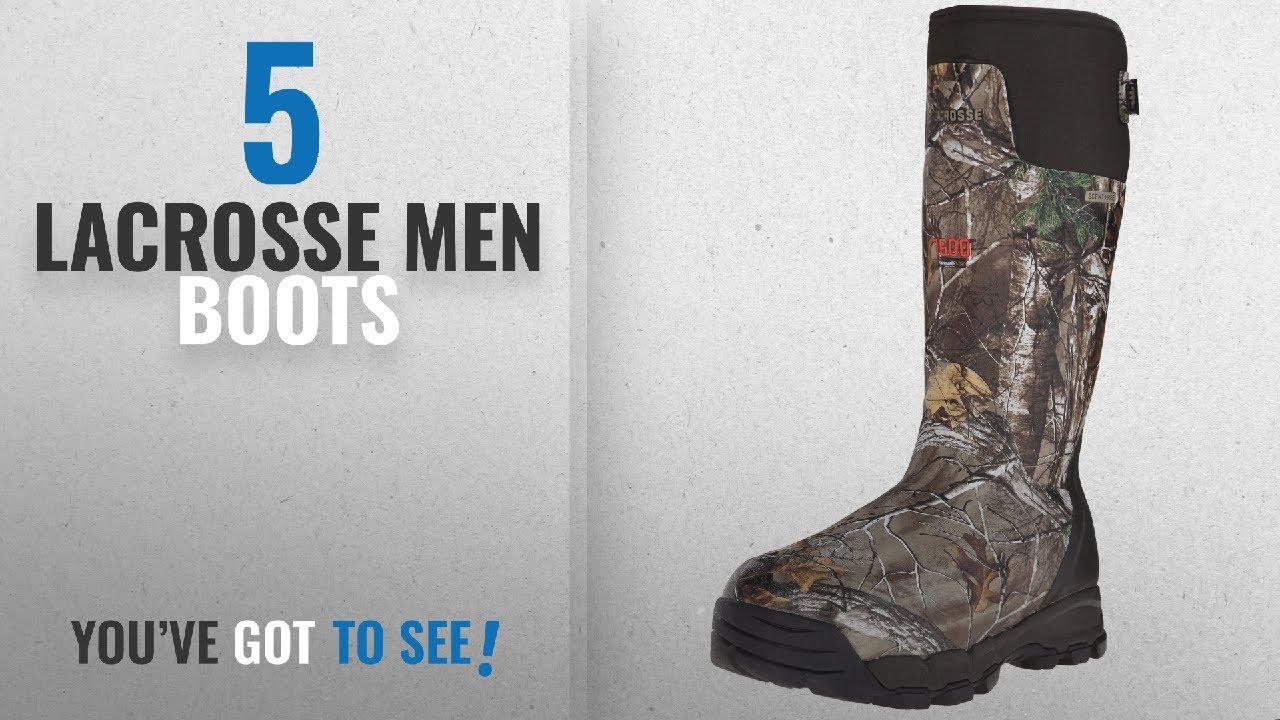 "a56eae43afe Top 10 Lacrosse Men Boots [ Winter 2018 ]: LaCrosse Men's Alphaburly Pro  18"" 1600G Hunting"