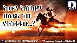 Islam by sword?