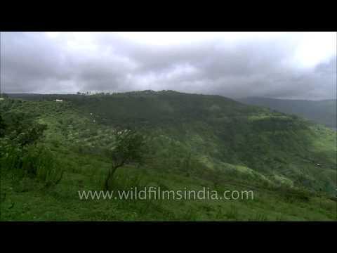 Landscape of Krishna river valley