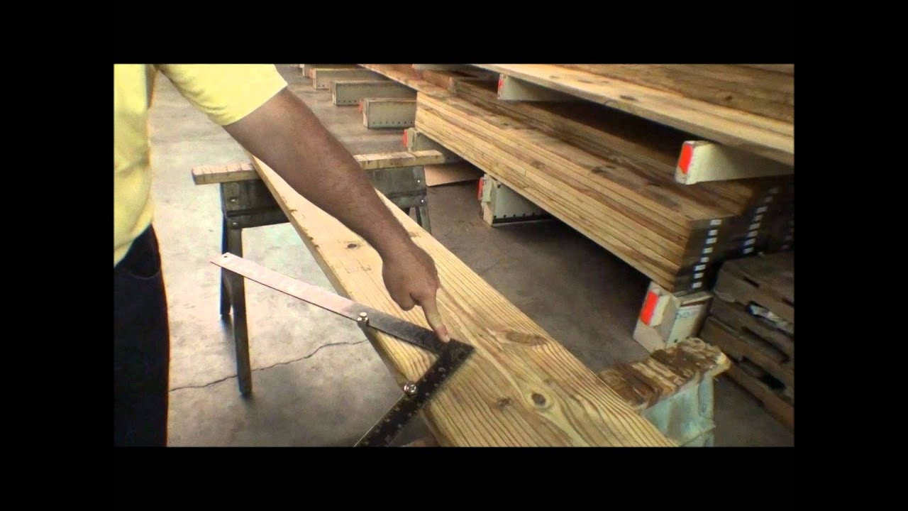 The Deck Store   How To Cut Stair Stringers   YouTube