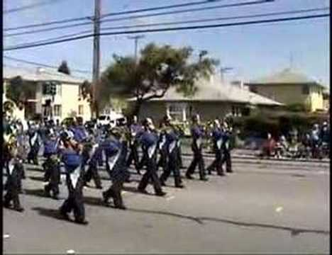 Dover Middle School, 2007 Encinal Band Review
