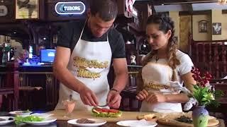 """Кулинарное шоу """" Готовим с Гаяне"""" .  чемпион мира , Европы по тайскому боксу  готовит бургеры"""