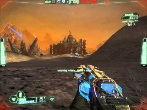 """Tribes Ascend"" Missiles, Explosions and a blue plate"