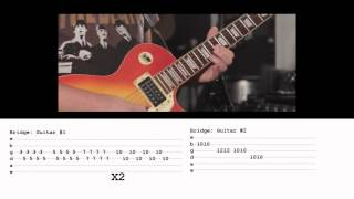 """How To Play """"Paradise"""" by Coldplay on Guitar (Cover by Ely Jaffe) with TABS!!!"""