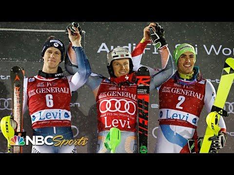 Henrik Kristoffersen Edges Clement Noel To Win At Men's World Cup Slalom | NBC Sports