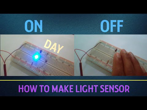 How To make a Simple LDR Light Sensor | Wow Electric - YouTube