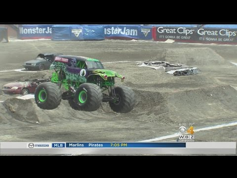 Monster Jam Drives Into Gillette Stadium