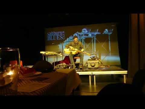 Harry Manx At Saltburn Blues Club 11/11/2017