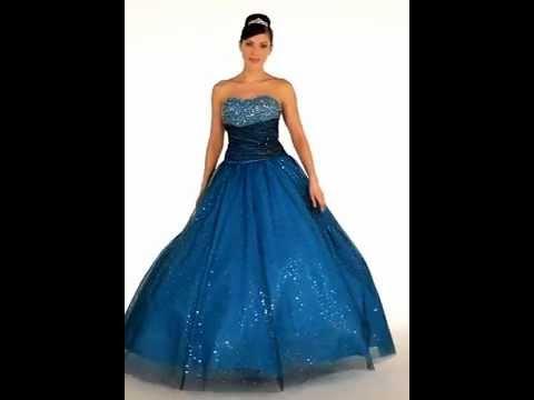 Extravagant Debutante Dress  Sparkling Prom Gown  YouTube