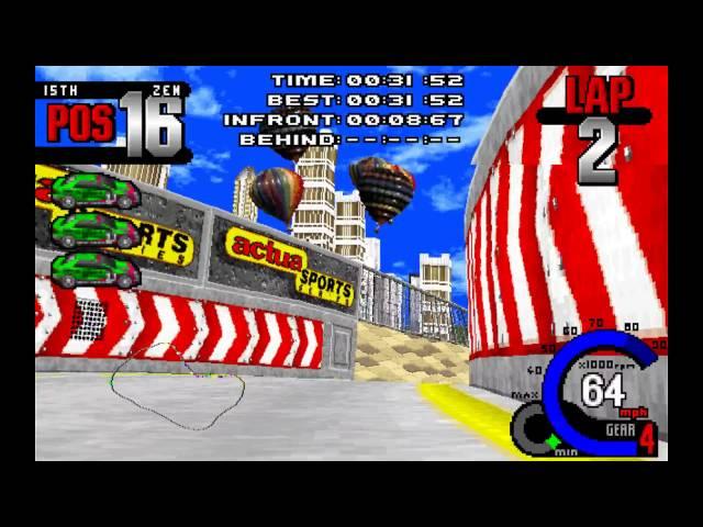 Fatal Racing / Whiplash - Gameplay [HD]