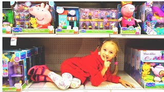 Polina pretende jugar a las escondidas con mamá