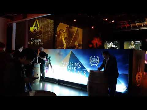 Assassin's Creed: Origins behind the scenes event