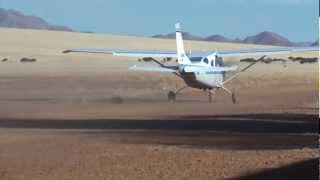Scenic flight over Namib Sand Sea and Sossusvlei Part II - UNESCO World Heritage Site