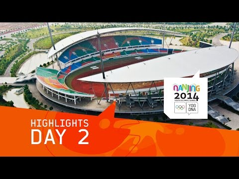 Day 2 Highlights | Nanjing 2014 Youth Olympic Games
