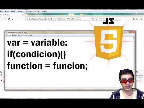 Aprende a hacer videojuegos con JS: Tutorial 3 Principios básicos de JavaScript(JS) thumbnail