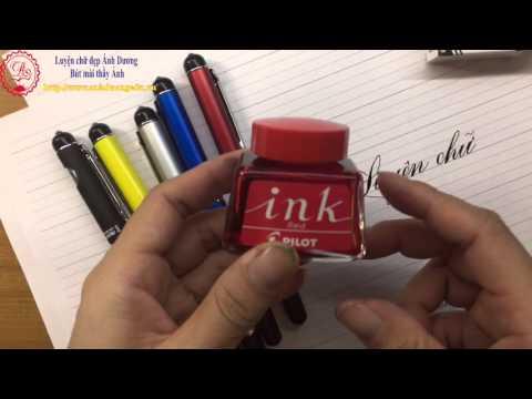Bút mài thầy Ánh 041 calligraphy