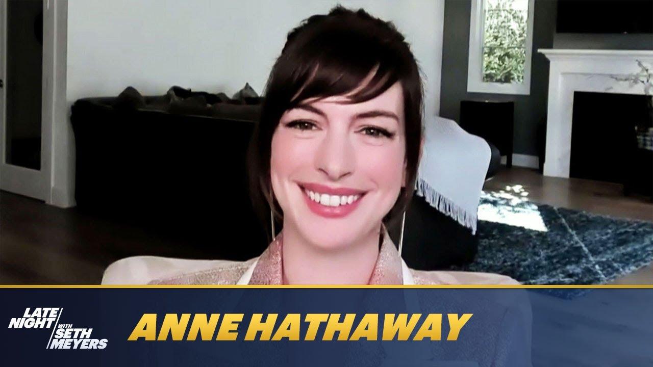 Download Anne Hathaway Shot Her Film Locked Down in 18 Days