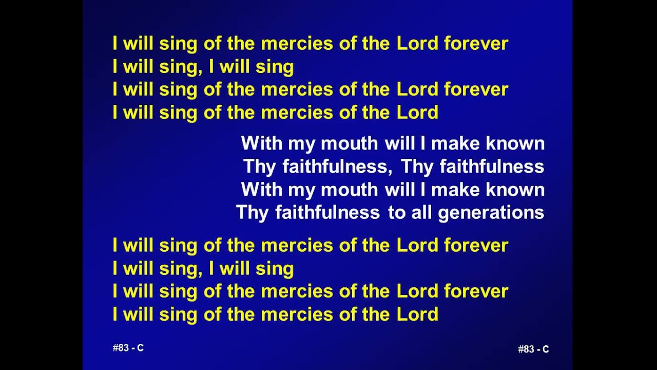 Verses about God's and Jesus' compassion and mercy for us