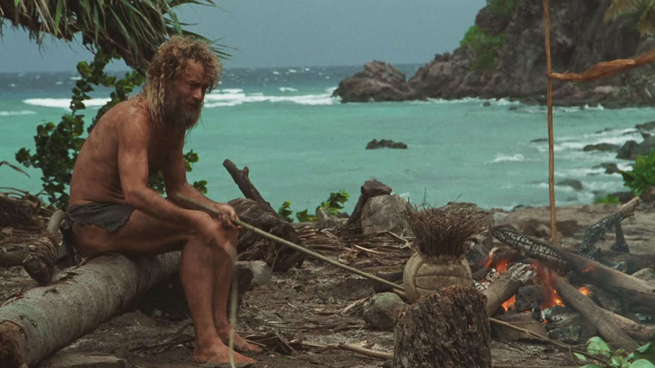 an analysis of how a man managed to live and survived alone in an island in robinson crusoe by danie