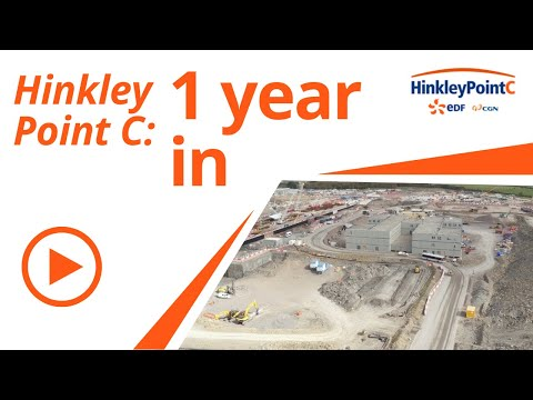 Hinkley Point C | The first year of progress