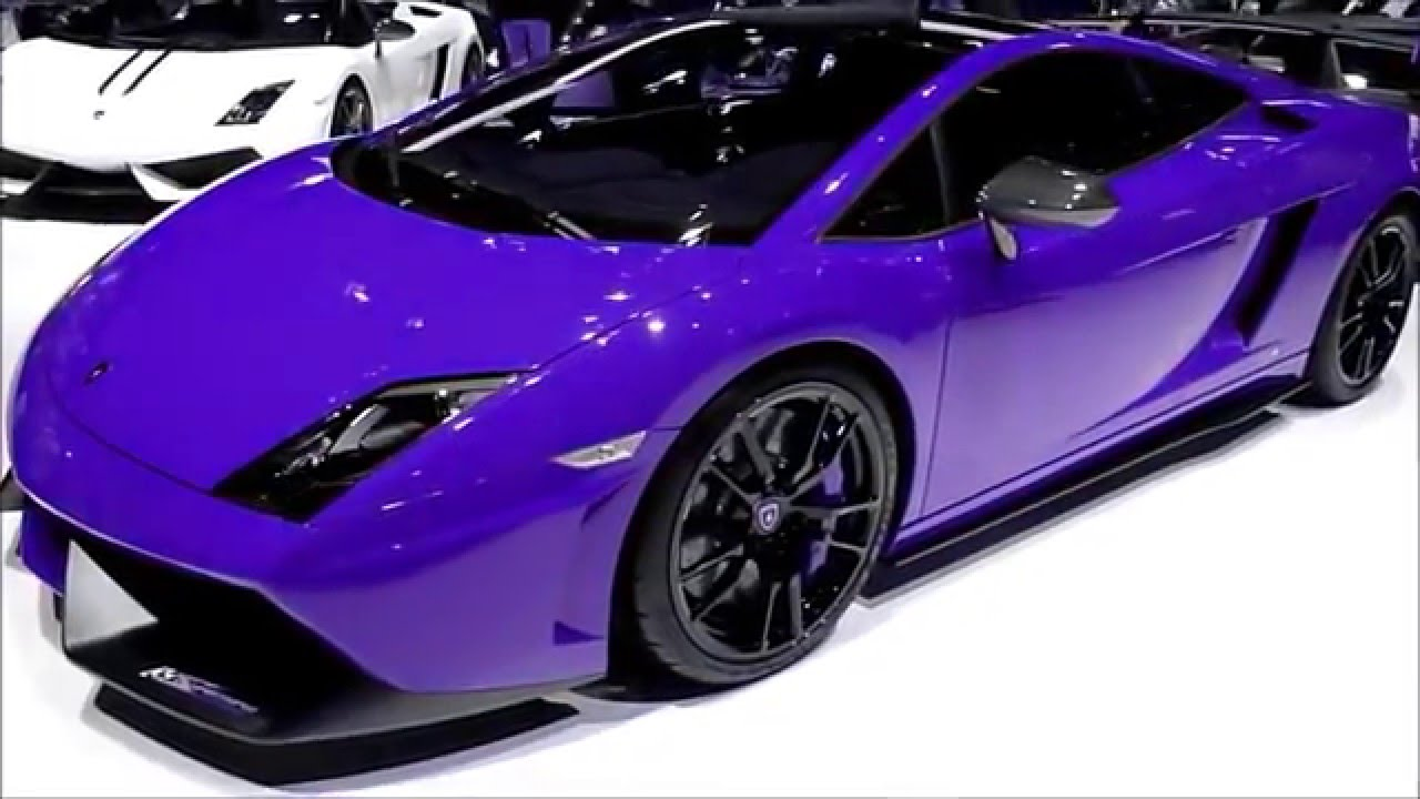 Color Changing Lamborghini Gallardo Lp 570 4 Super Trofeo