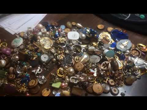 Episode 41: Thrift shop gold, diamond, silver and pearl!!