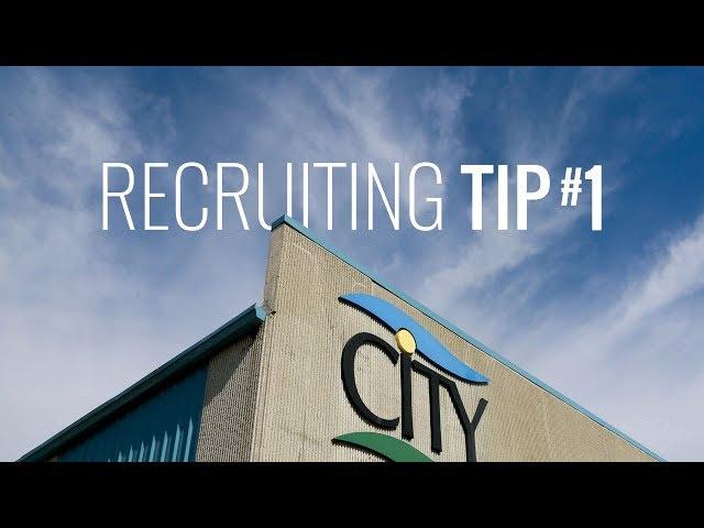 Recruiting Tip #1
