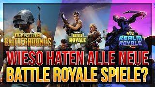 🤔 COMMENT TOUS LES NOUVEAUX BATTLE ROYALE GAMES?! Royaume Royale, PUBG, Fortnite