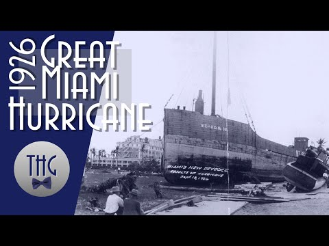 The Great Miami Hurricane of 1926