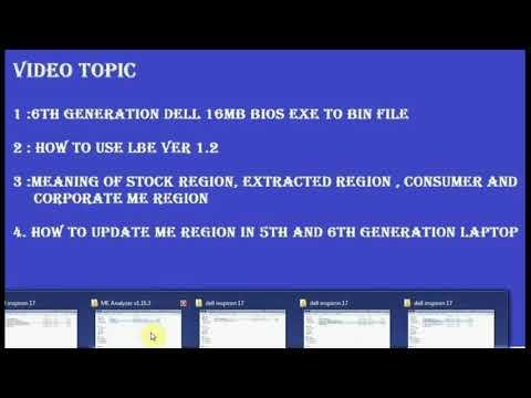 16MB BIOS EXE TO BIN FILE CONVERTER (HINDI) - YouTube