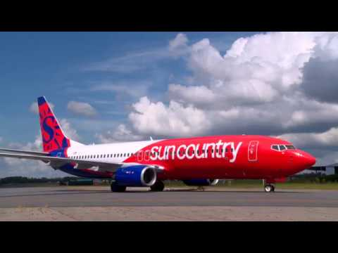 Sun Country Airlines Livery Time-lapse