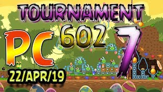 Angry Birds Friends Level 7 PC Tournament 602 Highscore POWER-UP walkthrough #AngryBirds