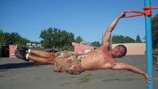 The True Human Flag Tutorial--California Calisthenics