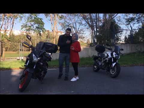 Kız Arkadaşı Motosiklete Alıştırmak