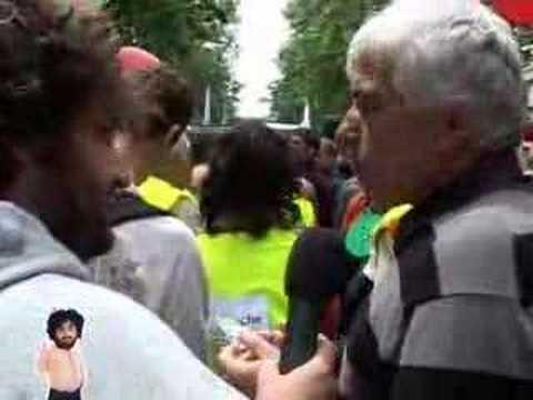 manifestation  Météo France Mouloud