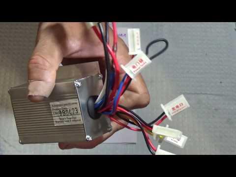 контроллер двигателя MY1018 (для эл.велосипеда). Как подключить.