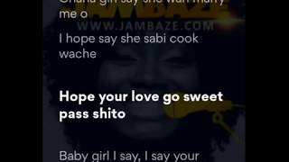 List video mad over you runtown lyrics - Download mp3