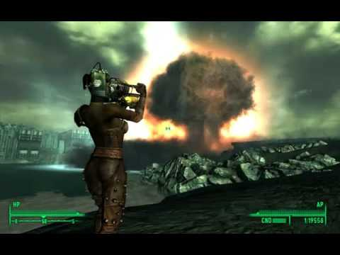 Fallout 3 Fat Man Mirv Edition Carpet Layer Youtube