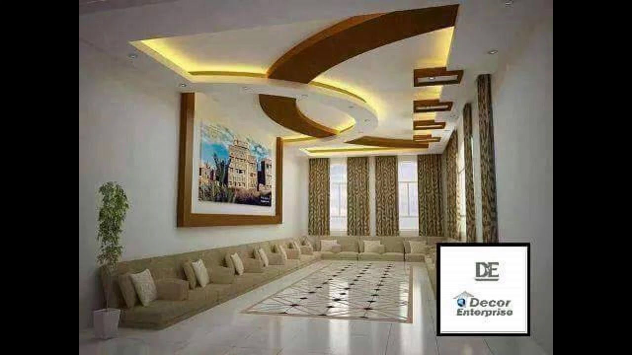 living room false ceiling design 2016 dining kitchen color schemes mr sanjib das flat gypsum board part 2 youtube