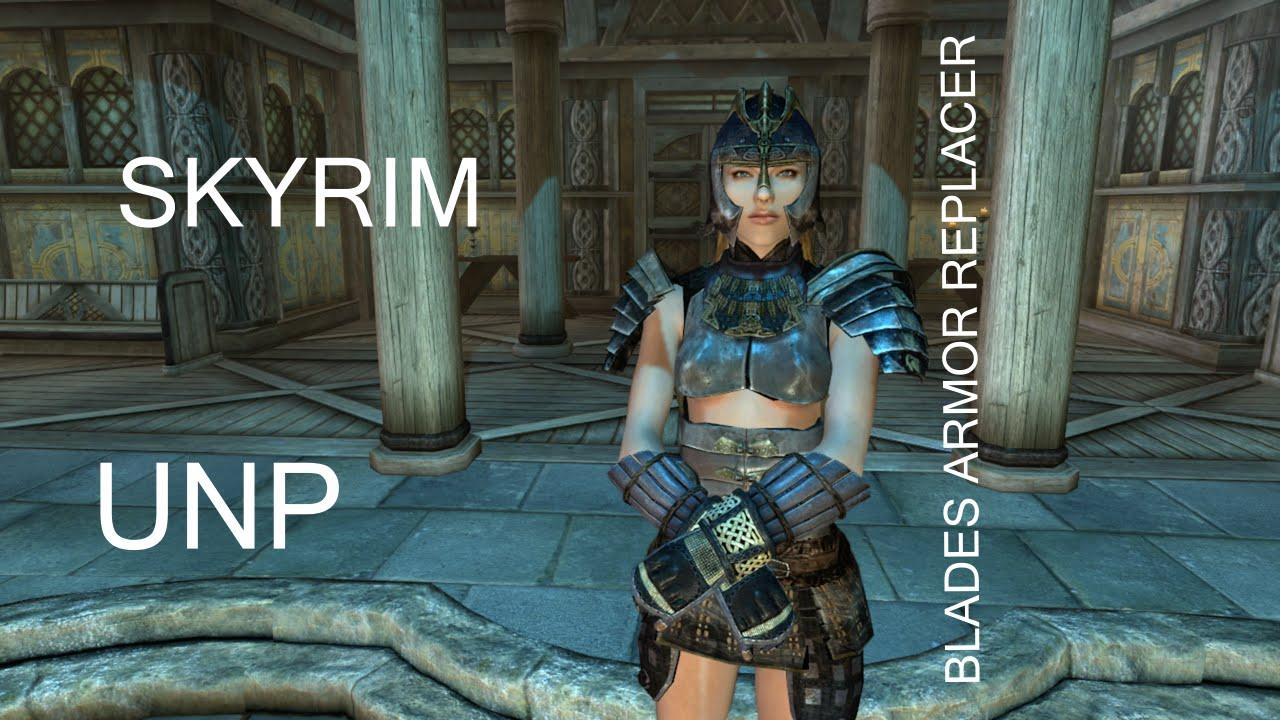 UNP Blades Armor Replacer at Skyrim Nexus - mods and community