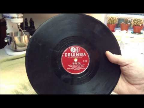 Tea for Two 78 RPM Record cleaning