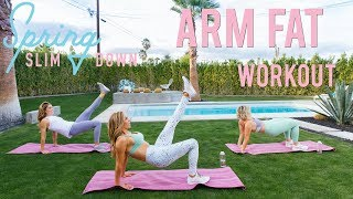Poolside Arm Fat Workout - No Equipment | Spring Slim Down '18